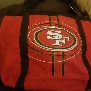 49ers Purse/Tote bag